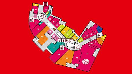 Centerplan | Attraktive Shops in zentraler Lage